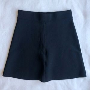 BRANDY MELVILLE Black Skater Skirt